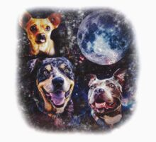 Three Woof Moon Kids Clothes