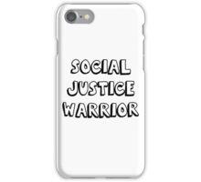 social justice warrior iPhone Case/Skin