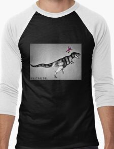 because time travel. Men's Baseball ¾ T-Shirt