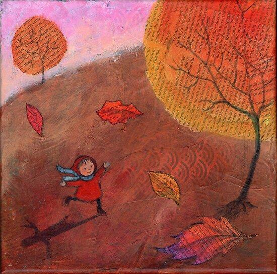 Autumn walk by Bethan Matthews