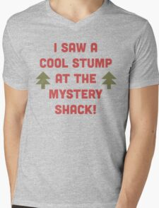 Cool Stump! Mens V-Neck T-Shirt