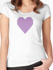African Violet  Women's Fitted Scoop T-Shirt