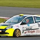 Alex Osbourne Renault Clio by Willie Jackson