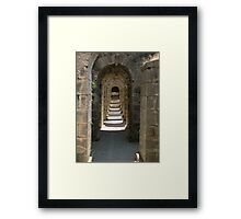 The Archway Framed Print