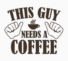 This Guy Needs A Coffee by AmazingVision