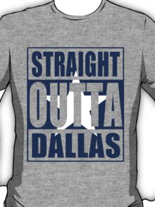 Straight Outta Dallas Flag T-Shirt