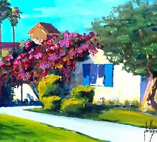 Florida Cottage by Jim Phillips