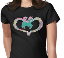 Unicorn Rainbow Womens Fitted T-Shirt