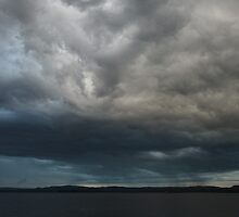 Storm Rolling In From Quebec by Tracy Faught