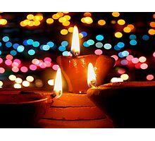 Colorful Diwali Photographic Print