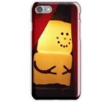 Marshmallow Snowman  iPhone Case/Skin