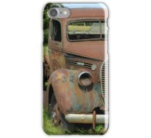 Rust Covered Antique Truck iPhone Case/Skin