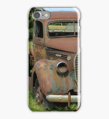 Rust Covered Antique Truck iPhone Case/Skin