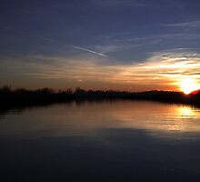 Broadland Sunset by Paul Holman