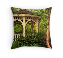 Virginia Garden Throw Pillow