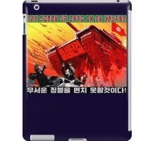 North Korean Propaganda - The Tank iPad Case/Skin