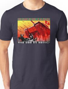 North Korean Propaganda - The Tank Unisex T-Shirt