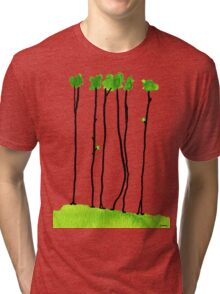 Truely long tree trunks Tri-blend T-Shirt