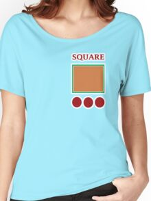 SQUARE Women's Relaxed Fit T-Shirt
