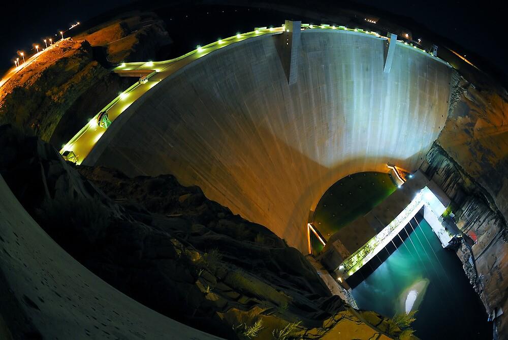 Glen Canyon Dam by Bob Miller