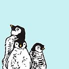 3 Penguins by Wendy Howarth
