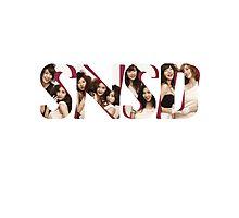 SNSD - Girls Generation Sticker/T-shirt Photographic Print