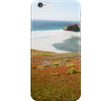 Barbed coast iPhone Case/Skin