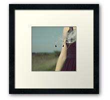 Milkweed Take Flight Framed Print