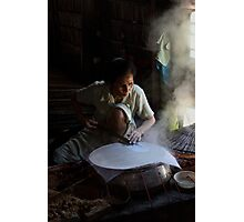 Rice paper Photographic Print