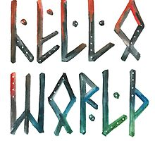 Hello world! by farawayart