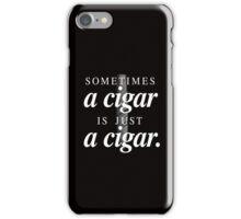 Freud's cigar iPhone Case/Skin