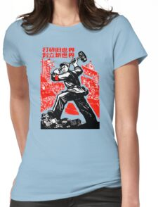 China Propaganda - The Sledgehammer Womens Fitted T-Shirt