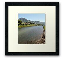 Landscape 5.0 - Salzburg  Framed Print