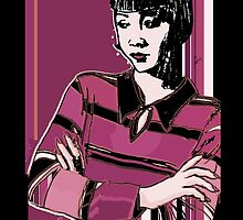 Anna May Wong 1920s Portrait  by CecelyBloom