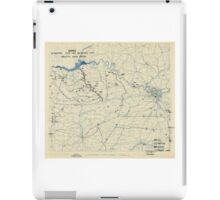 World War II Twelfth Army Group Situation Map August 24 1944 iPad Case/Skin