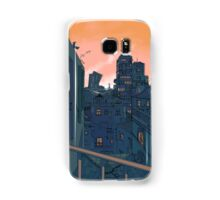 Cityscape in the Evening Samsung Galaxy Case/Skin