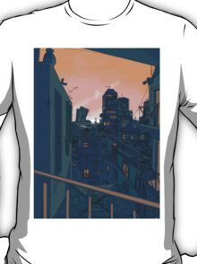 Cityscape in the Evening T-Shirt