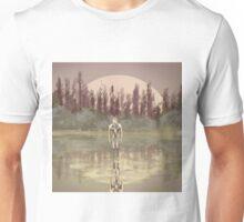 Tree spirit from the woods lake Unisex T-Shirt