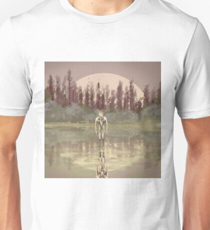 Tree spirit from the woods lake Unisex T-Shirt