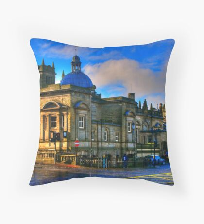 The Turkish Baths - Harrogate Throw Pillow