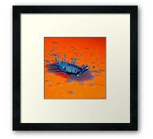 Splash of Colour 18 Framed Print