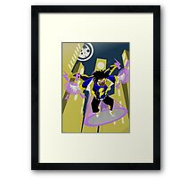 Detective Comics Presents: Superhero Static Shock! Framed Print