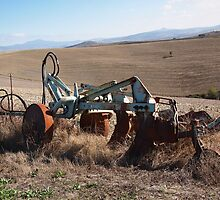Old plough by pljvv
