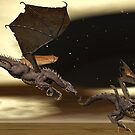 Battle Dragons by Walter Colvin
