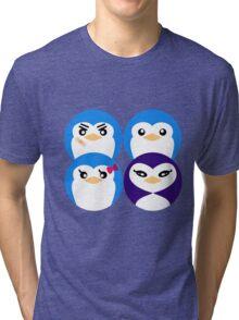 Mawaru Penguins Tri-blend T-Shirt