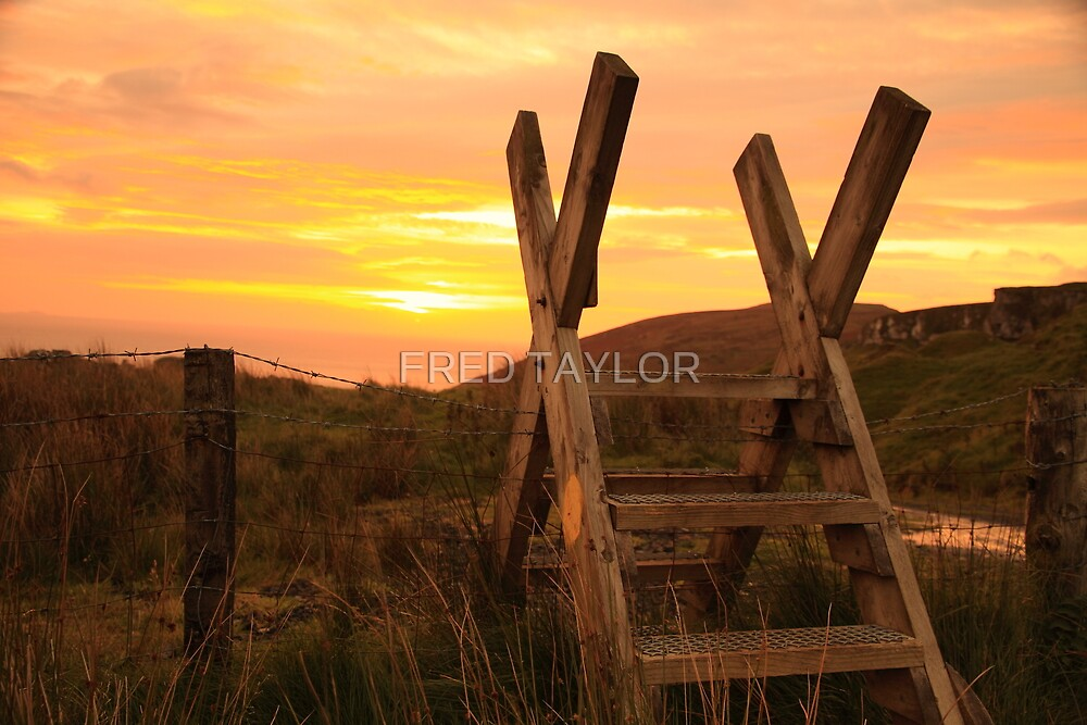 The hikers stile. by Fred Taylor
