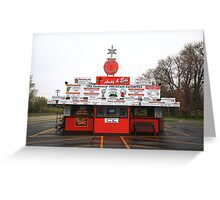 Oshkosh, Wisconsin - Ardy and Ed's Drive-In Greeting Card