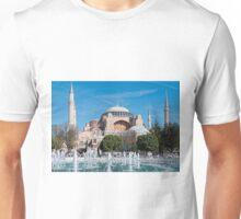 The Hagia Sophia, Istanbul Unisex T-Shirt