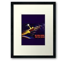 USSR Propaganda - Sputnik Framed Print
