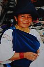 Ecuadorian Lady from Otavalo by Alessandro Pinto